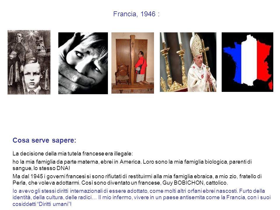 Francia, 1946 : Cosa serve sapere: