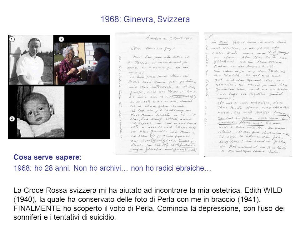 1968: Ginevra, Svizzera Cosa serve sapere: