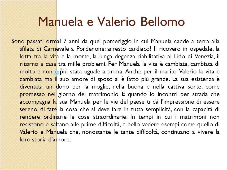 Manuela e Valerio Bellomo