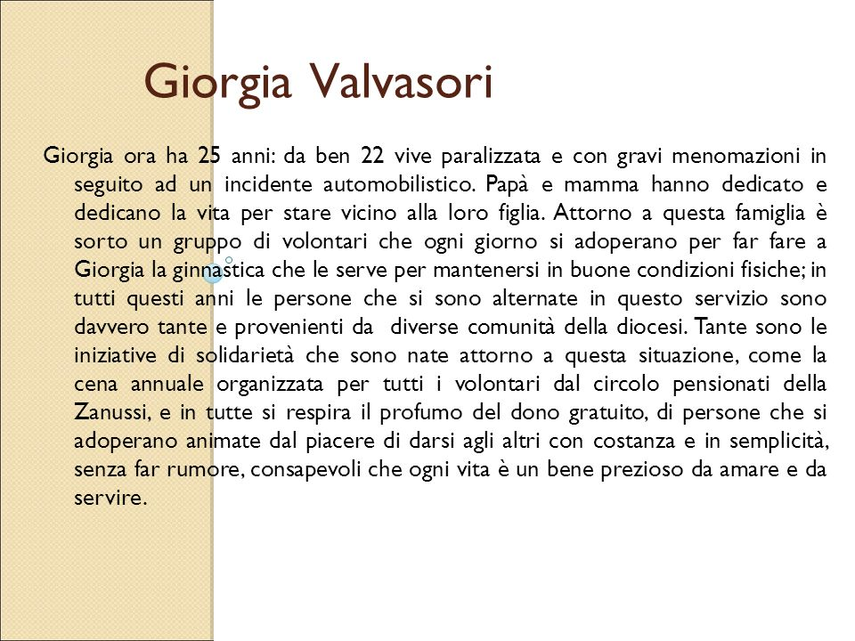 Giorgia Valvasori