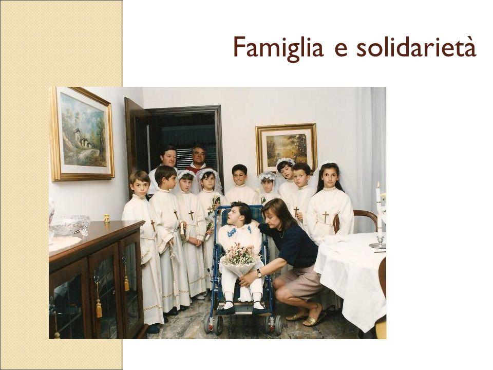 Famiglia e solidarietà