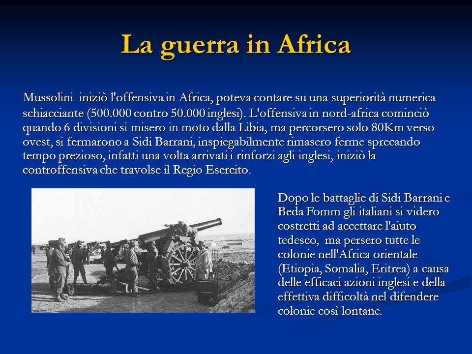 La guerra in Africa