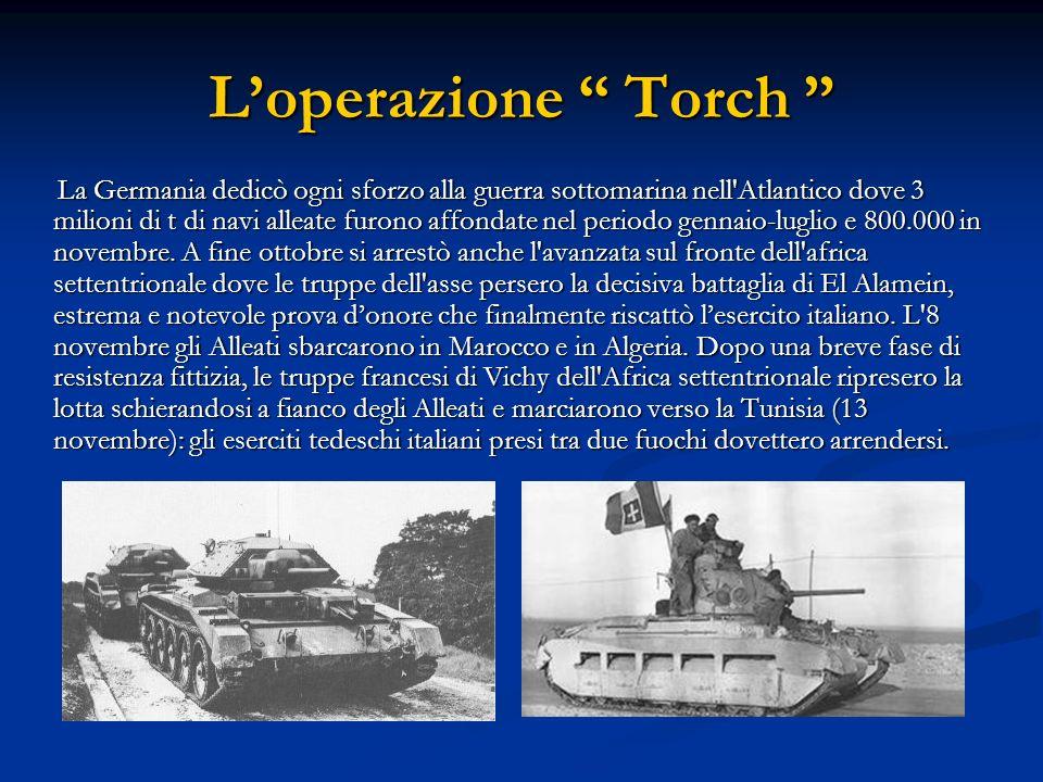 L'operazione Torch
