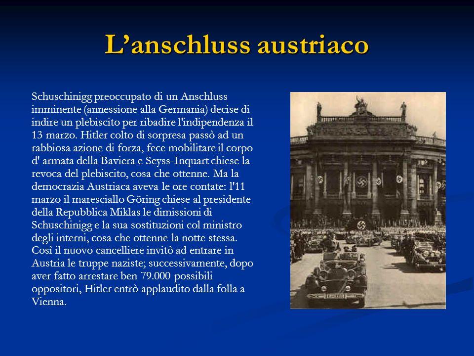 L'anschluss austriaco