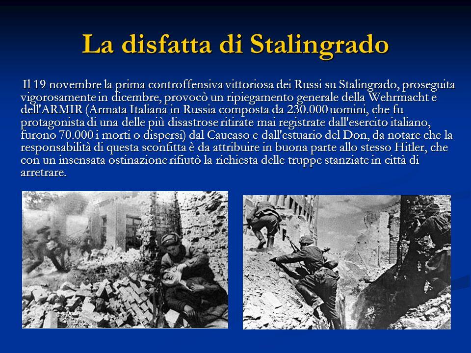 La disfatta di Stalingrado