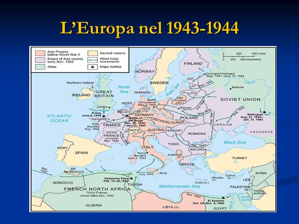 L'Europa nel 1943-1944