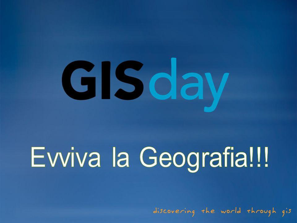Evviva la Geografia!!!