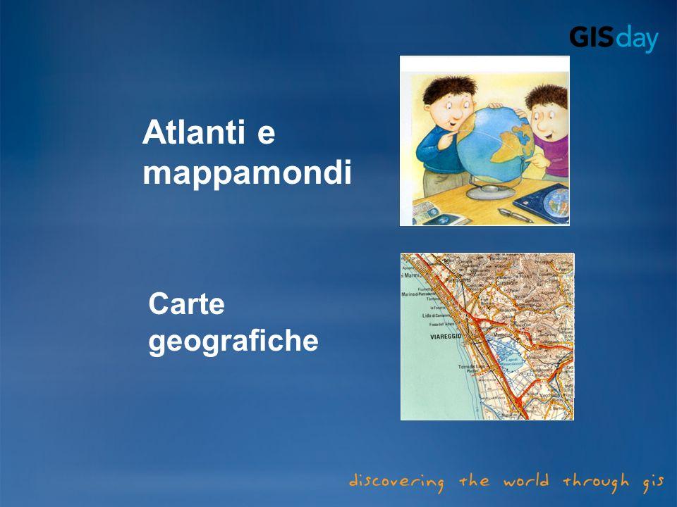 Atlanti e mappamondi Carte geografiche