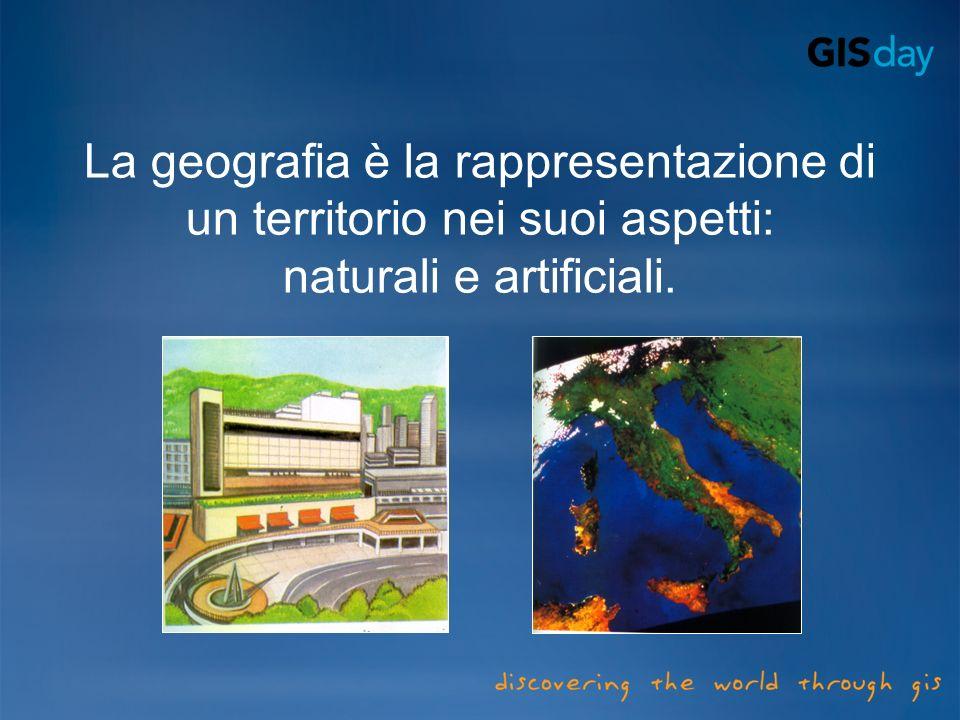 La geografia è la rappresentazione di un territorio nei suoi aspetti: