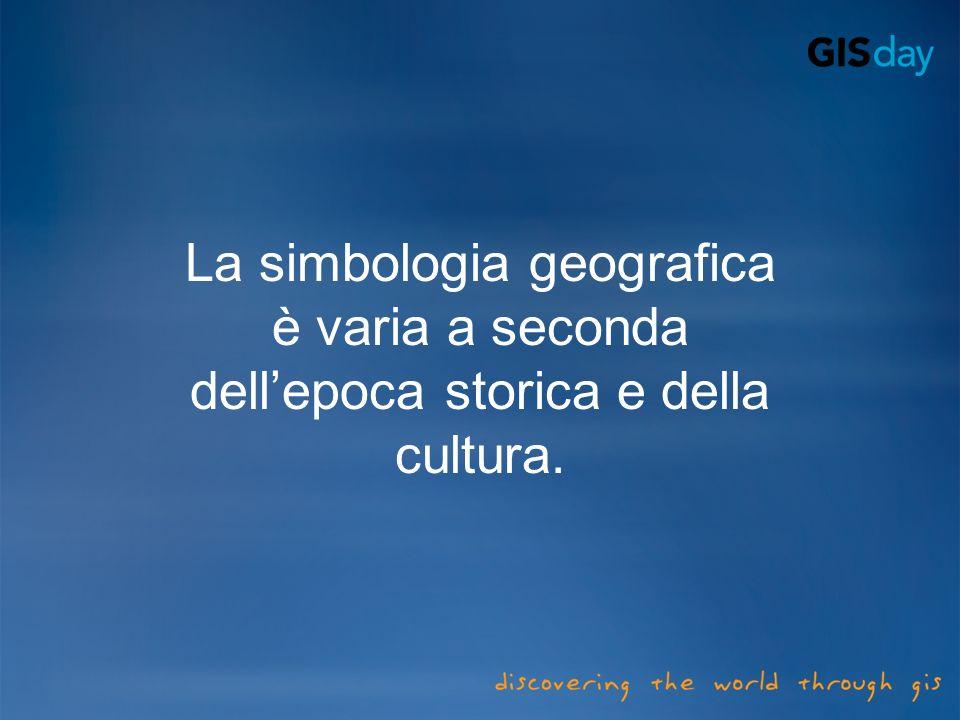 La simbologia geografica