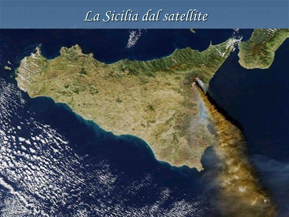 La Sicilia dal satellite