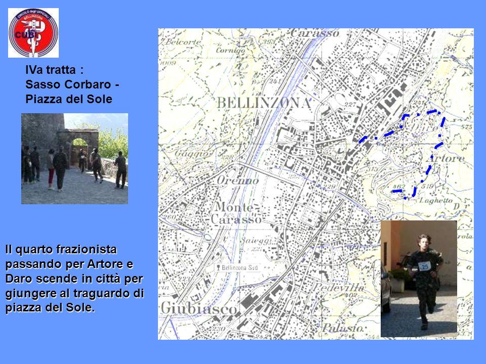 IVa tratta : Sasso Corbaro - Piazza del Sole.