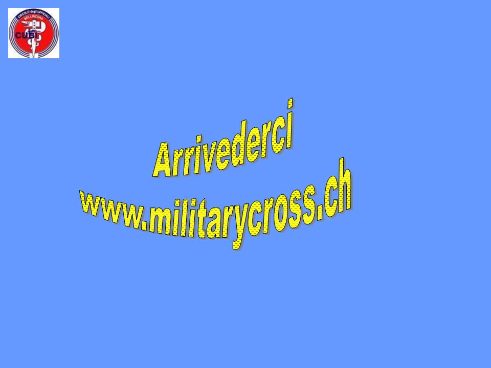 Arrivederci www.militarycross.ch