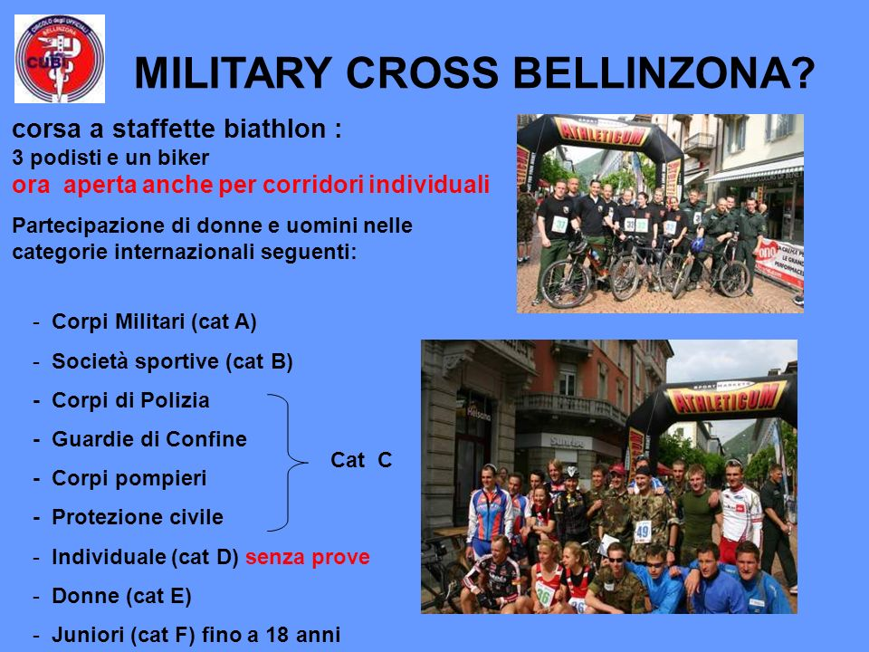MILITARY CROSS BELLINZONA