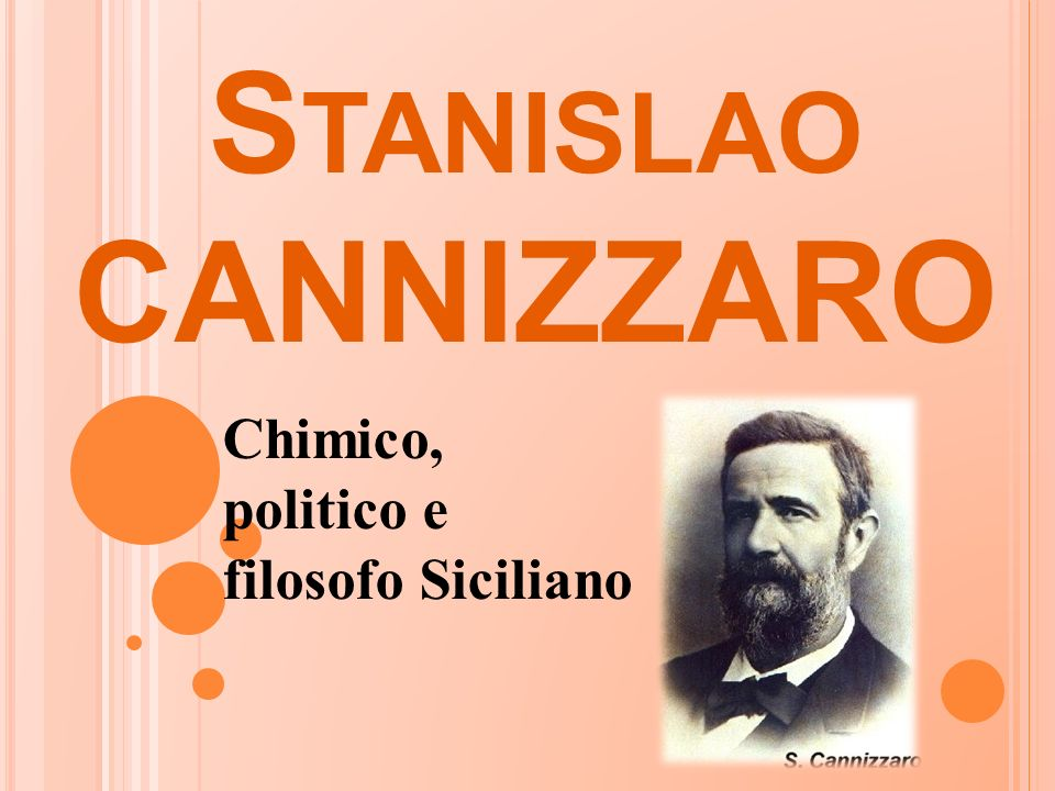 Chimico, politico e filosofo Siciliano