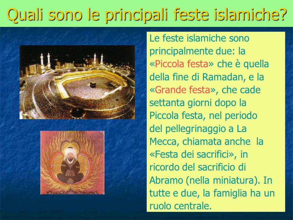 Quali sono le principali feste islamiche
