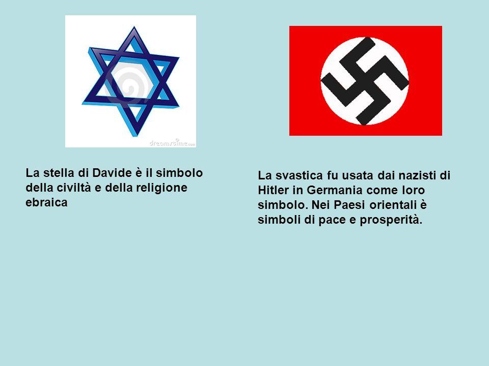 La stella di Davide è il simbolo della civiltà e della religione ebraica