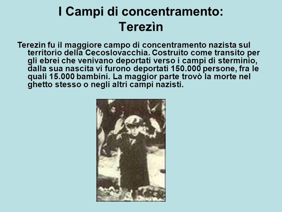 I Campi di concentramento: Terezìn