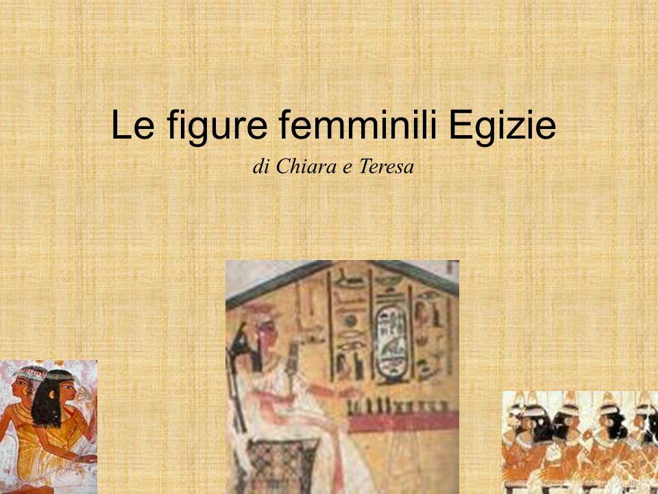 Le figure femminili Egizie