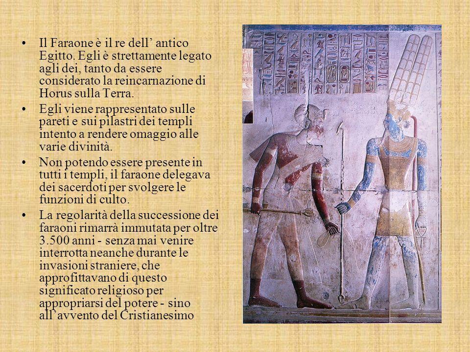Il Faraone è il re dell' antico Egitto