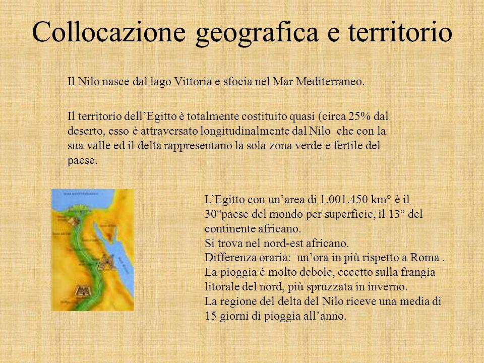 Collocazione geografica e territorio
