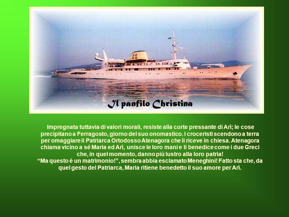 Il panfilo Christina