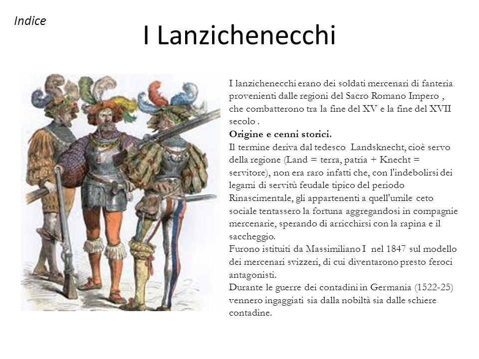 I Lanzichenecchi Indice