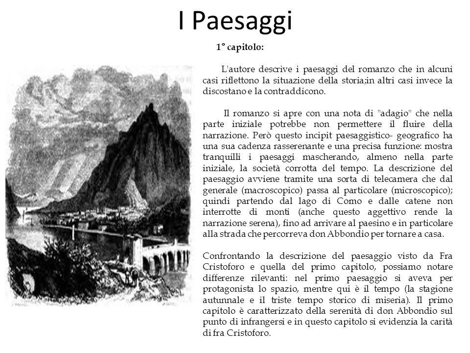I Paesaggi 1° capitolo:
