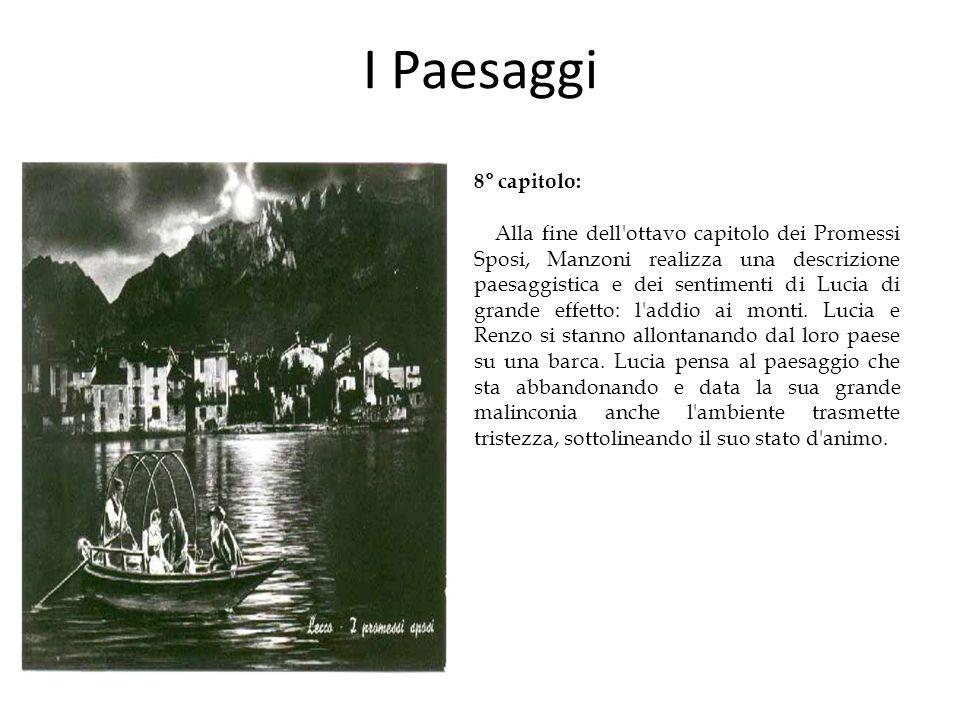 I Paesaggi 8° capitolo: