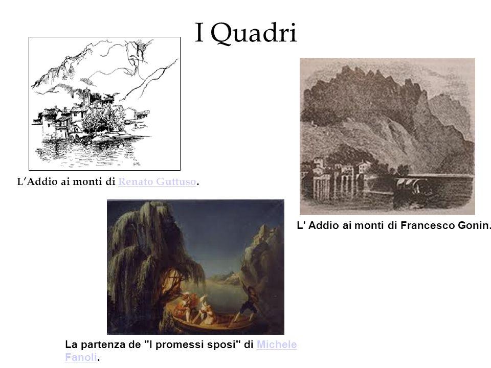 I Quadri L'Addio ai monti di Renato Guttuso.