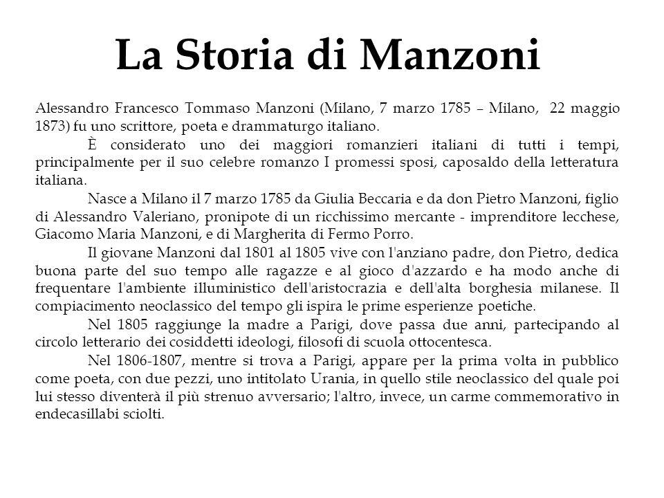 La Storia di Manzoni