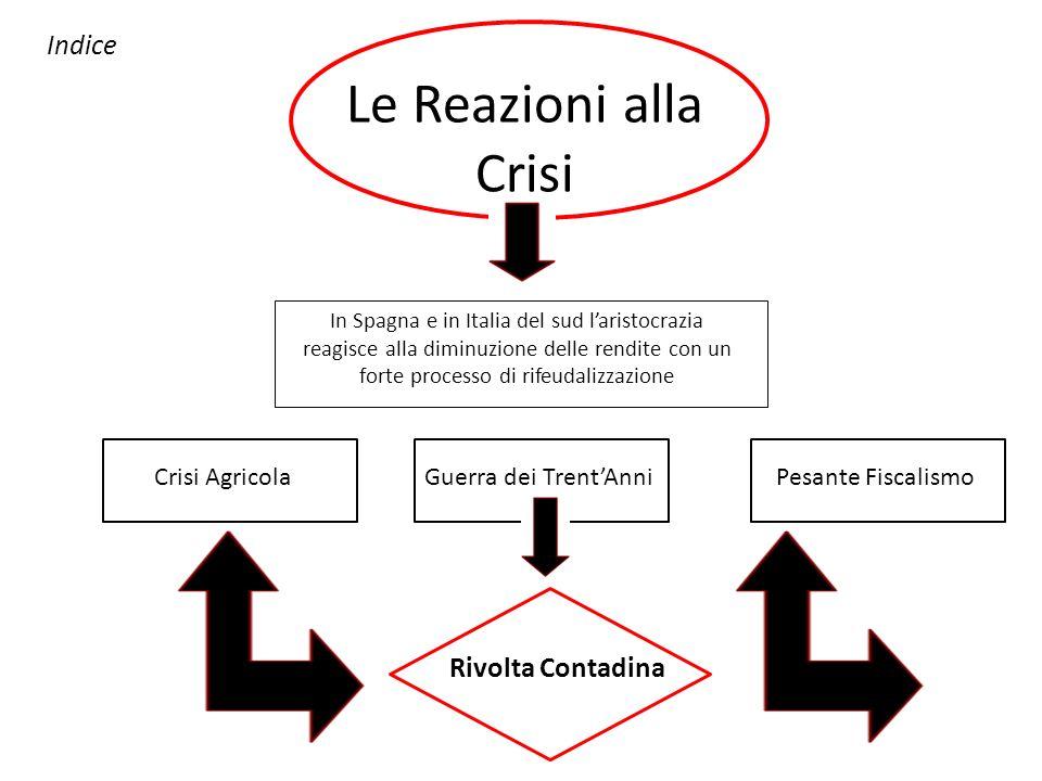 Le Reazioni alla Crisi Indice Rivolta Contadina Crisi Agricola