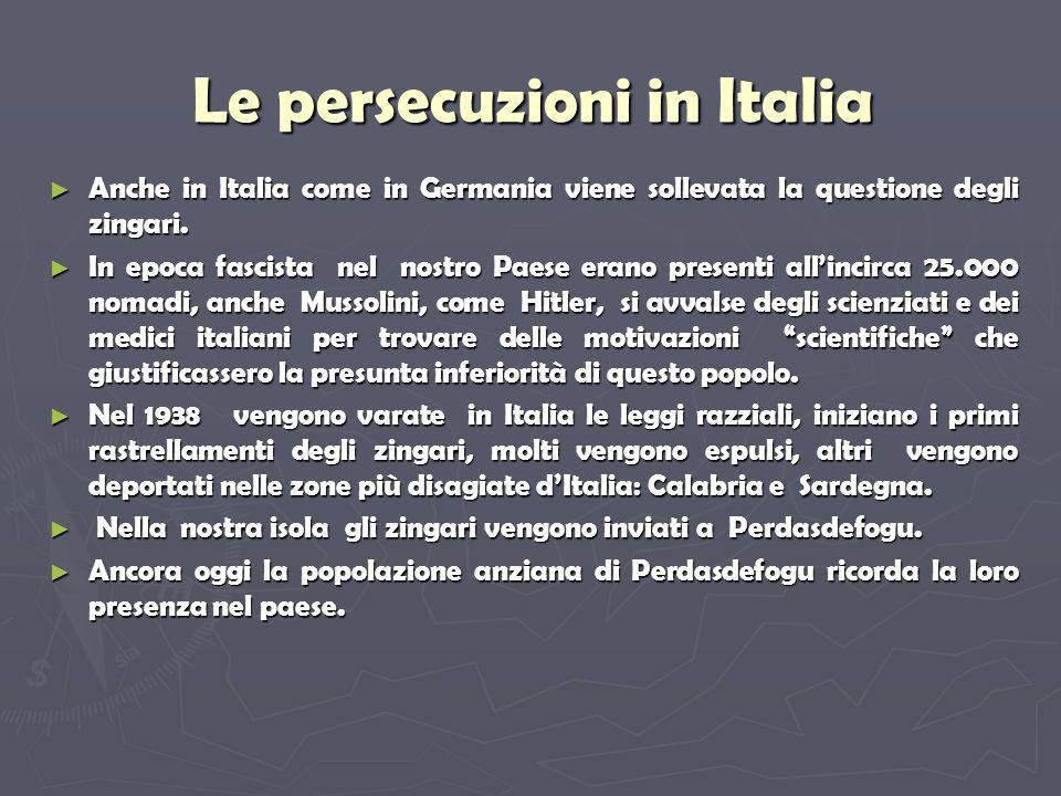 Le persecuzioni in Italia