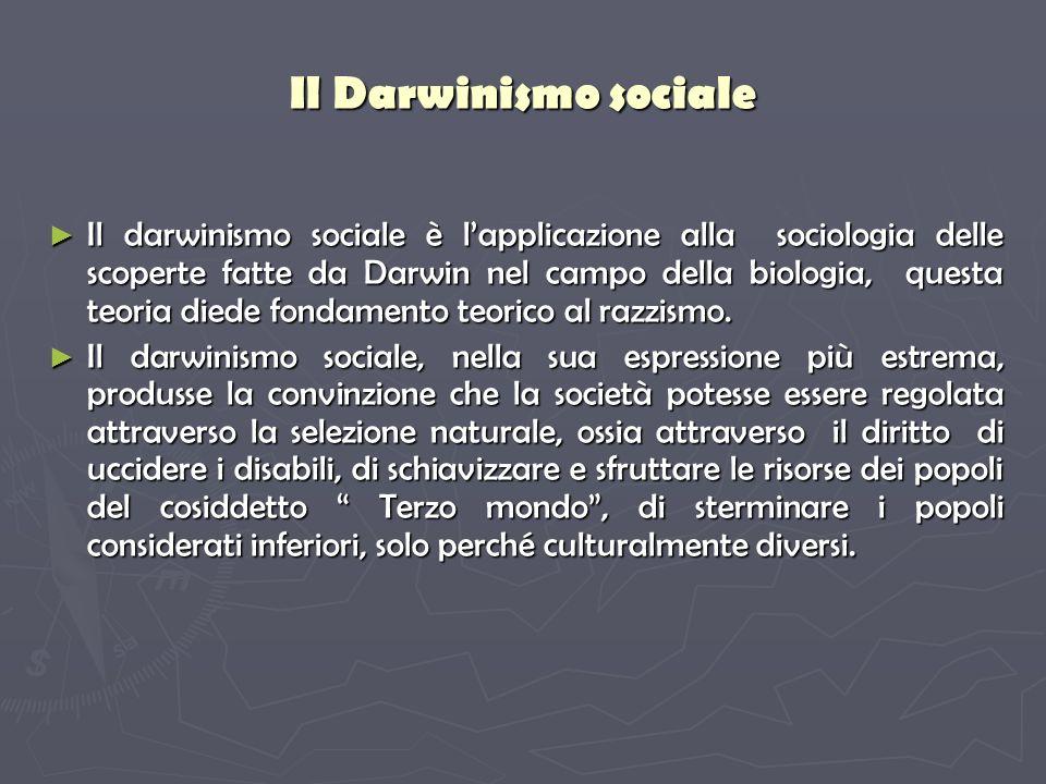 Il Darwinismo sociale