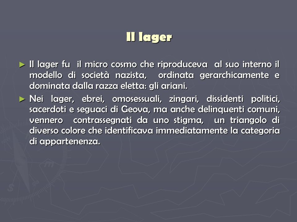 Il lager
