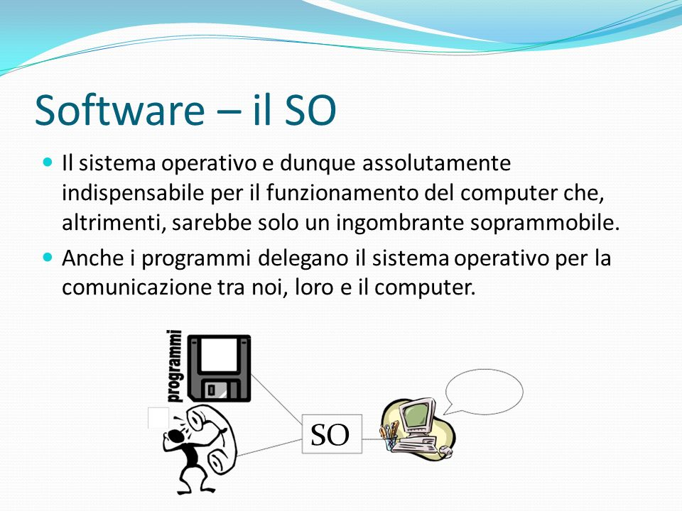 Software – il SO