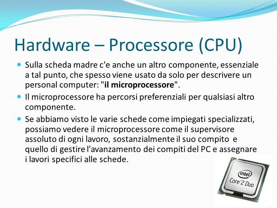 Hardware – Processore (CPU)