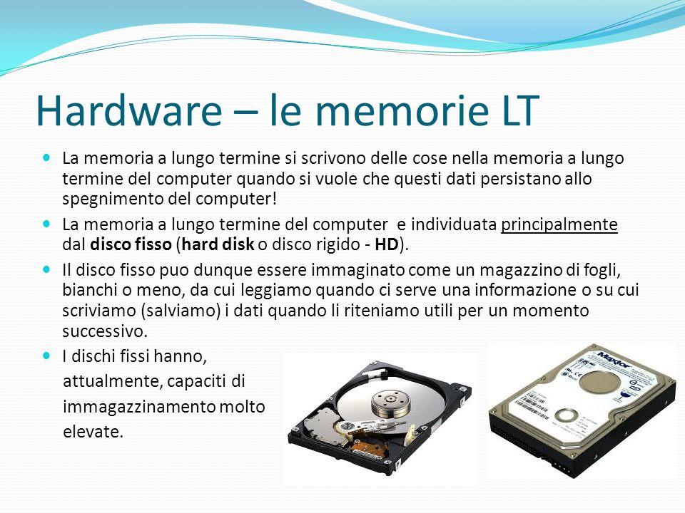 Hardware – le memorie LT