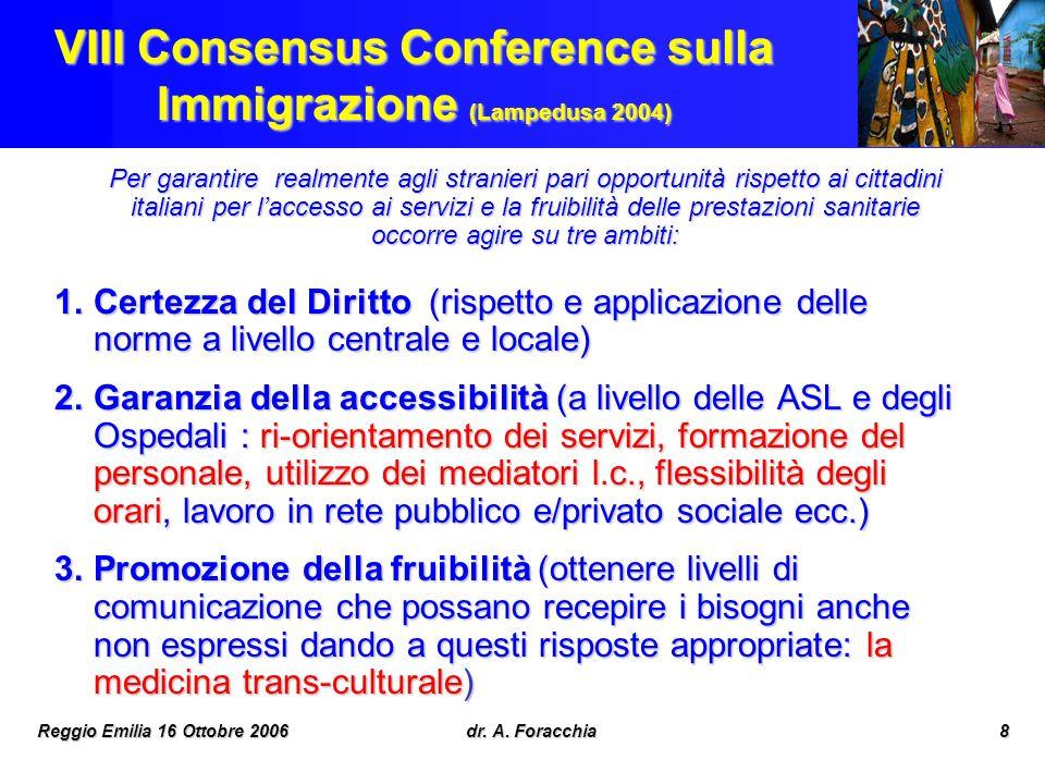 VIII Consensus Conference sulla Immigrazione (Lampedusa 2004)