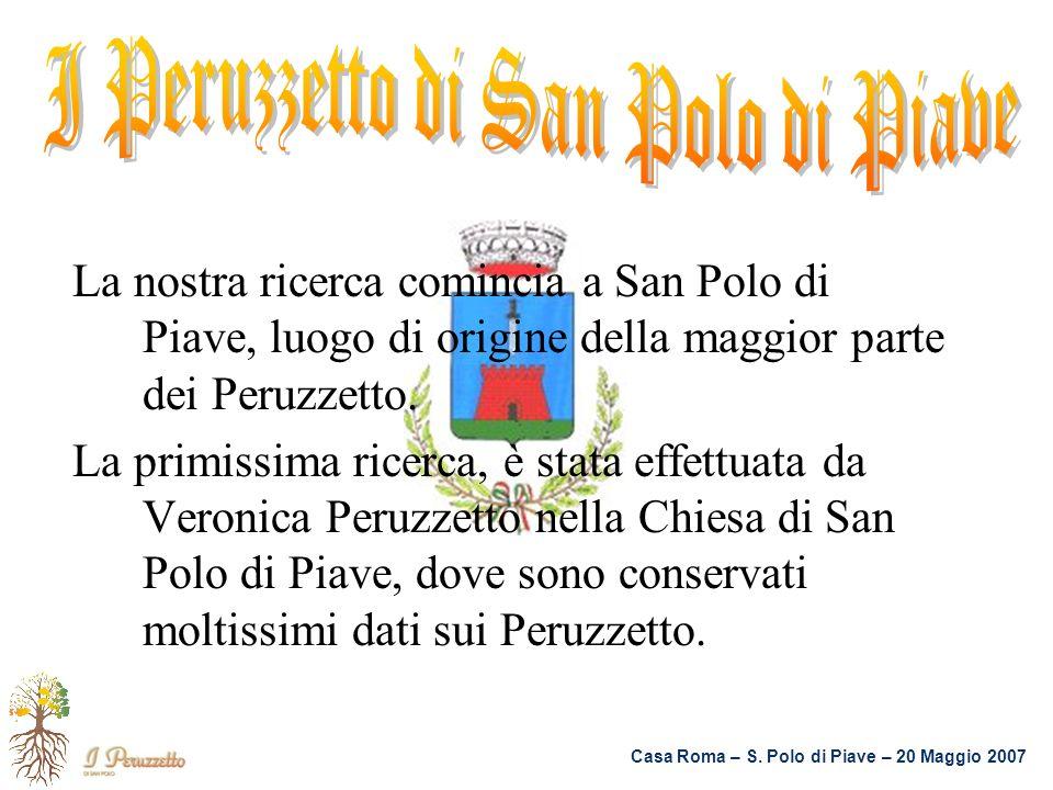I Peruzzetto di San Polo di Piave