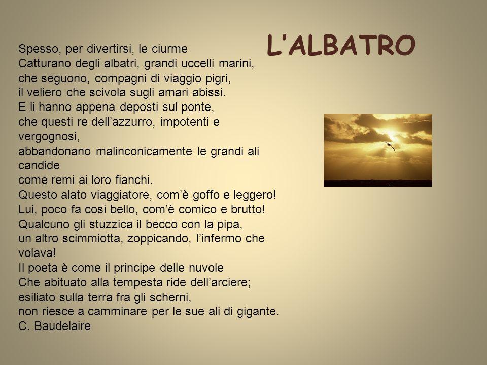 L'ALBATRO C. Baudelaire