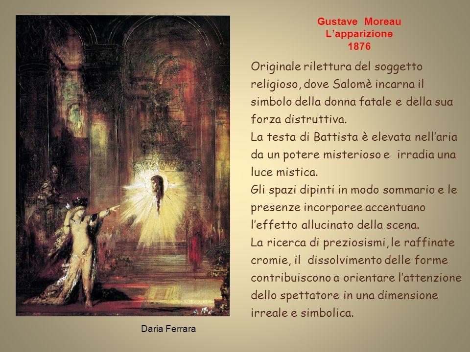 Gustave Moreau L'apparizione 1876