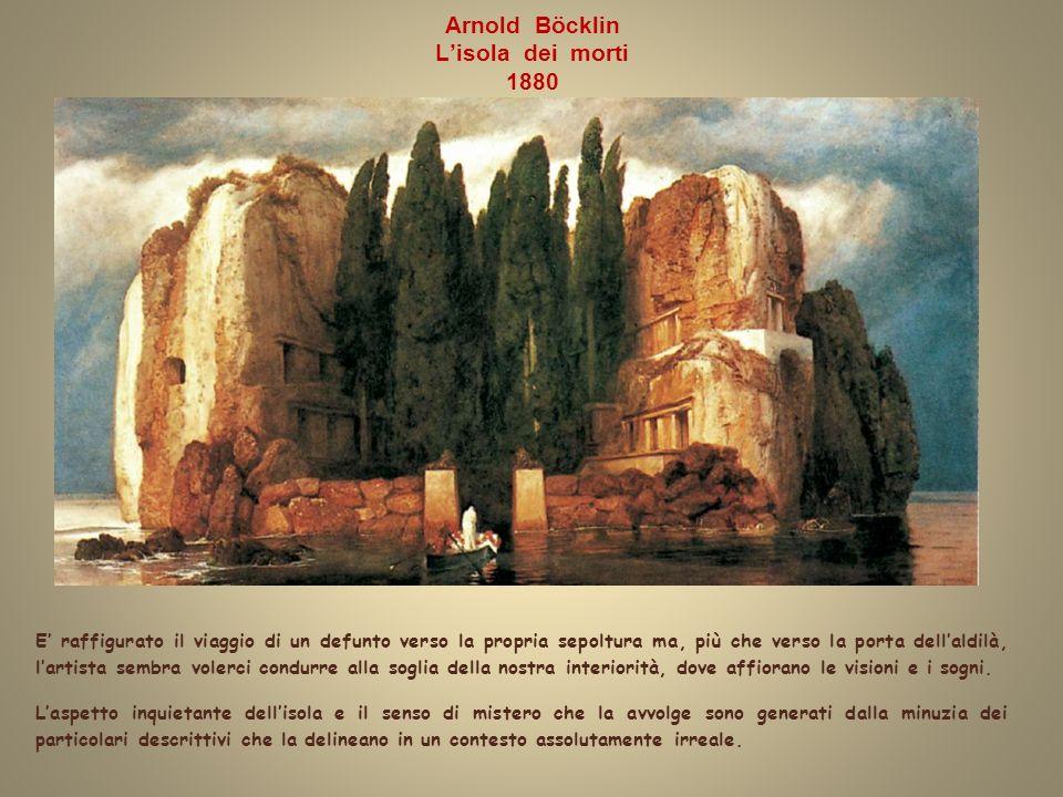Arnold Böcklin L'isola dei morti 1880