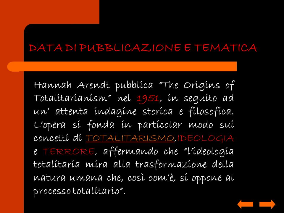 DATA DI PUBBLICAZIONE E TEMATICA