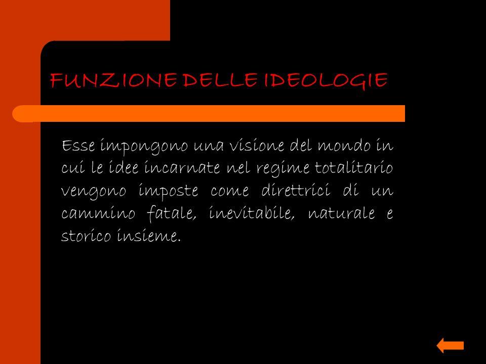 FUNZIONE DELLE IDEOLOGIE