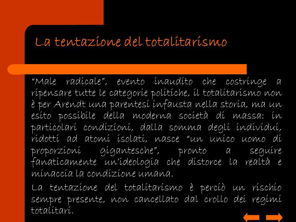 La tentazione del totalitarismo