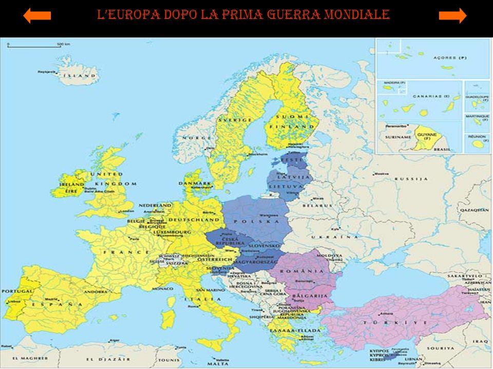 L'Europa dopo la prima guerra mondiale