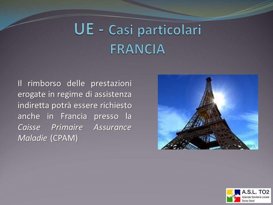 UE - Casi particolari FRANCIA