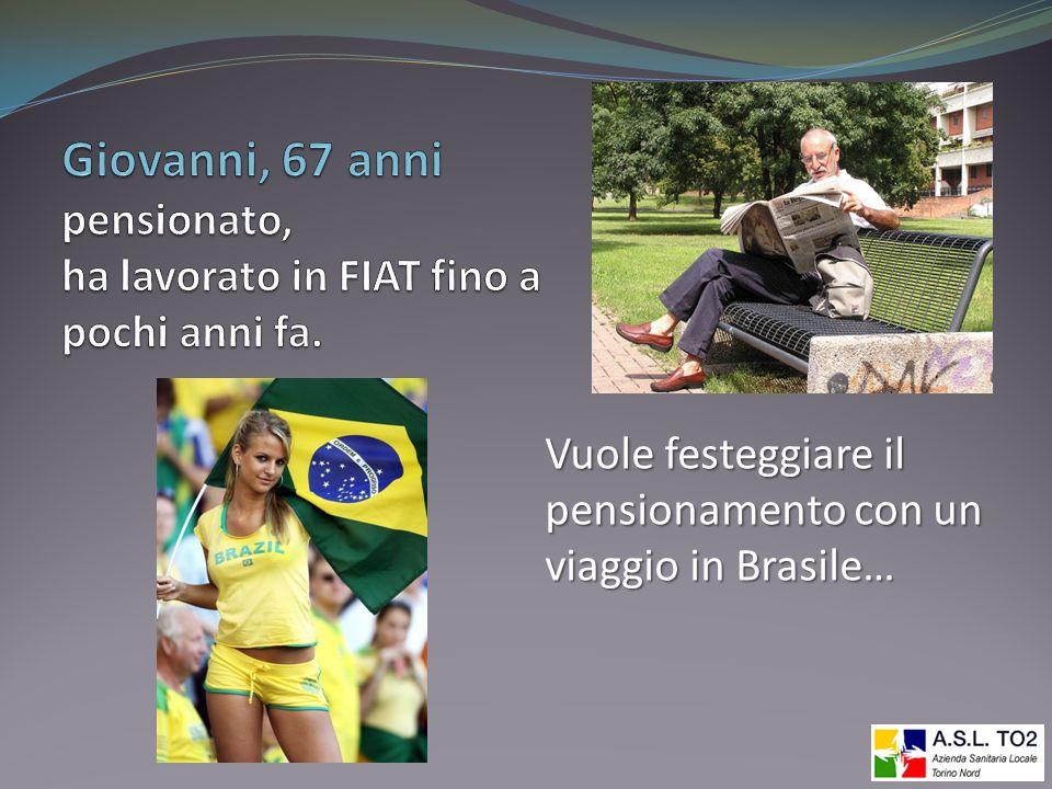 Giovanni, 67 anni pensionato, ha lavorato in FIAT fino a pochi anni fa.