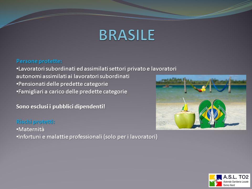 BRASILE Persone protette:
